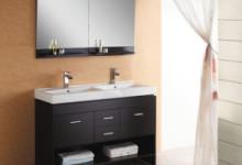 Навесной шкаф для ванной комнаты