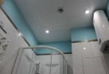 Принудительная вентиляция в потолке ванной комнаты