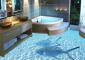 Расширяем пространство в ванной: дизайн с эффектом 3D