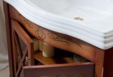 Мебель для ванной Каприго: обзор коллекций бренда