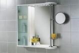 Зеркальный шкаф для ванной комнаты с фото