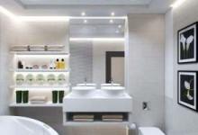 Полка из гипсокартона для ванной комнаты: удобно, стильно, уникально