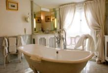 Варианты интерьера дизайна ванной комнаты в стиле прованс с фото
