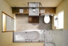 Дизайн ванной комнаты площадью 8 квадратных метров: продумываем до мелочей