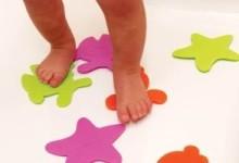 Детские мини-коврики для ванны: советы по выбору коврика