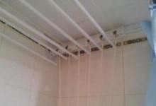 Потолочная сушилка для белья в ванную комнату: что надо знать
