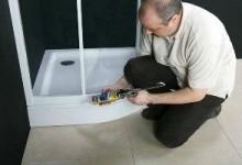 Какой ремонт душевой кабины можно провести своими руками?