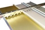 Потолок в ванной из алюминиевых панелей