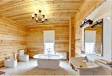 Полы в ванной комнате деревянного дома: что нужно знать?