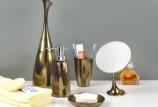 Аксессуары для ванной комнаты из бронзы: советы по выбору