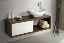 Тумба под накладную раковину в ванную: выбор, монтаж, изготовление своими руками