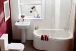Как обустроить интерьер маленькой ванной комнаты