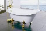 Отдельностоящая ванна на ножках: качество vs цена