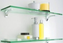 Навесные полки в ванную комнату: разновидности и преимущества