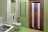 Выбрать и установить дверь в ванную комнату