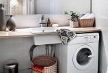 5 способов разместить стиральную машину в ванной комнате