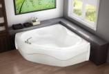 Дизайн угловой ванны в ванной комнате
