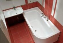 Дизайн маленькой ванной комнаты без унитаза