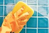 Чем лучше отмыть кафель в ванной
