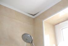 Борьба с плесенью на потолке в ванной комнате