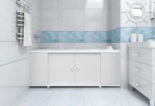 Экран для акриловой ванны: особенности выбора и монтажа