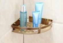 Угловые полки для ванны: разбираемся в разнообразии моделей