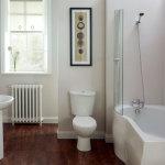 Красивый дизайн недорогой маленькой ванной комнаты фото 2014-2015