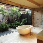 Дорогой фешенебельный дизайн ванной комнаты для особняка и виллы 2015