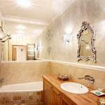 Ванная комната, оформленная в стиле Прованс