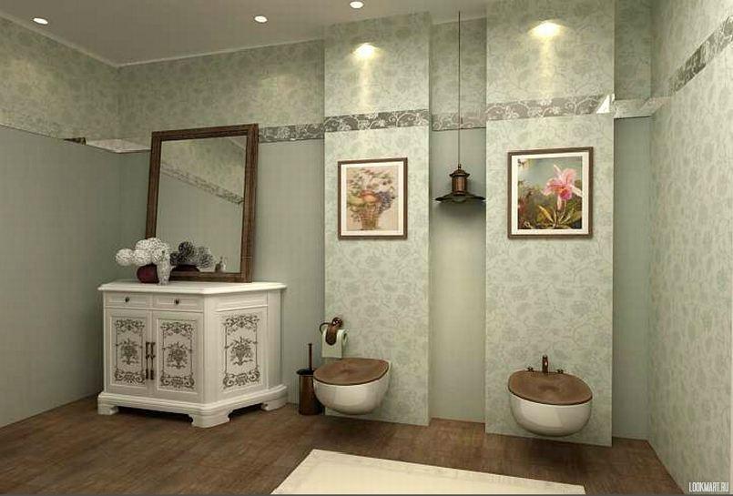 Ванные комнаты прованс купить малогабаритная компактная мебель комната